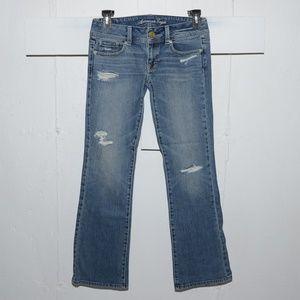 American eagle  original womens jeans sz 2 X 30.5